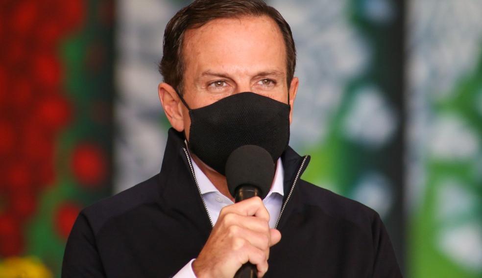 João Dória, governador de São Paulo, testa positivo para Covid-19 pela segunda vez