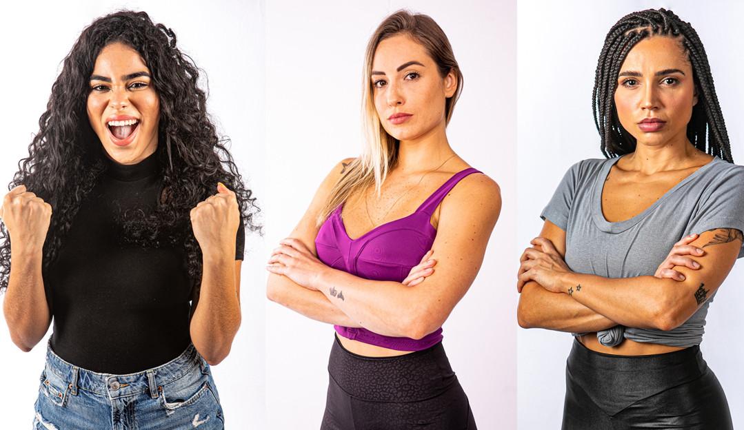 Elana, Jéssica e Paula explicam o porquê merecem vencer o 'No Limite'