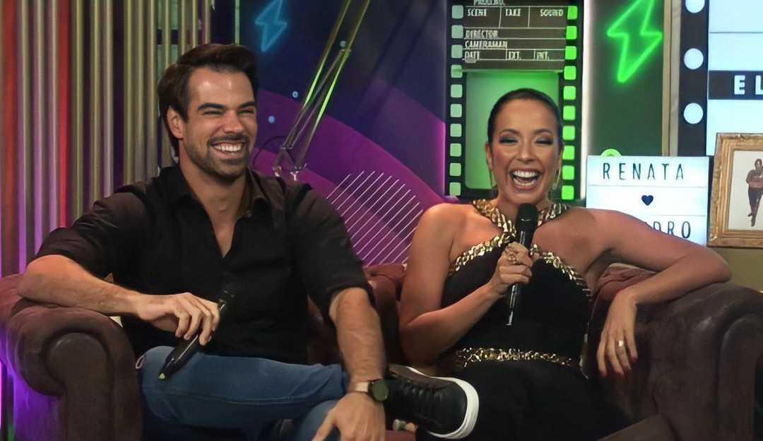 Após eliminação no Power Couple, Renata e Leandro chamam rivais de 'moleques': 'Quatro moleques com mais de quarenta anos'