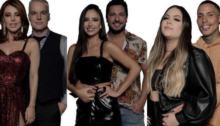 Power Couple: Deborah e Bruno, Mari e Matheus e Geórgia e Thiago foram a penúltima D.R