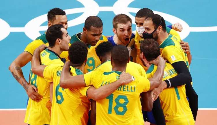 Brasil tem virada épica e vence a Argentina no vôlei masculino