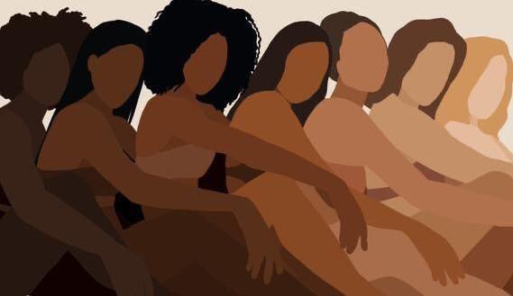 Mulher negra: lisa, cacheada, ondulada e crespa
