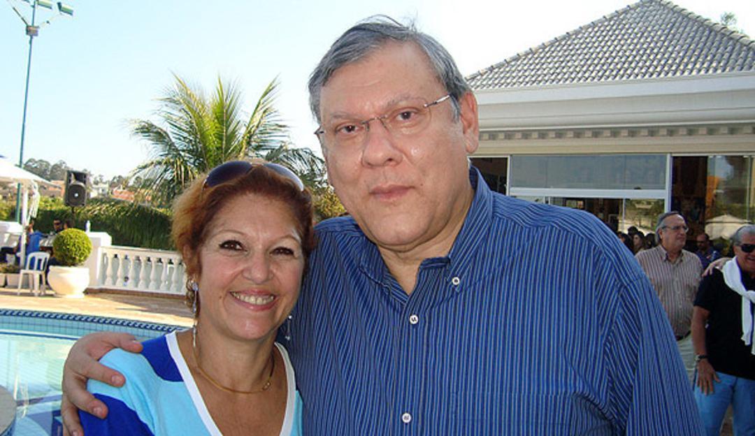 Jornalista Milton Neves lamenta morte de sua mulher