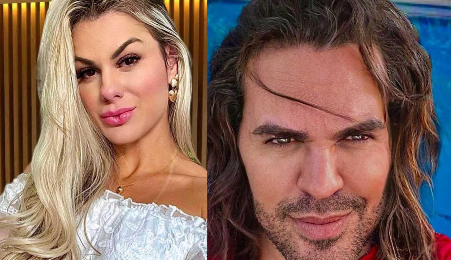 """Mariana Polastreli assume romance com cantor Eduardo Costa: """"Está lindo, mas tem dona"""""""