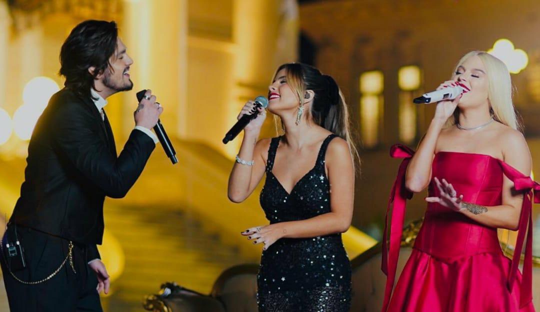 Live Clássicos: Luan Santana, Giulia Be e Luísa Sonza fazem live e emocionam o público