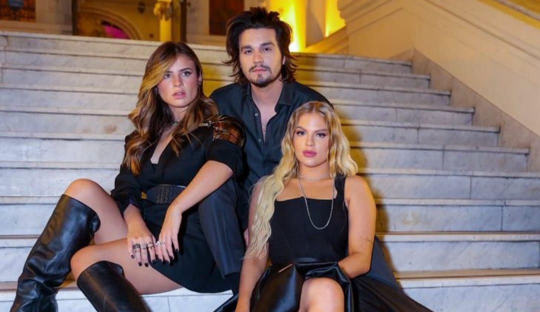 Luan Santana e Giulia Be defendem Luísa Sonza durante live e pedem empatia
