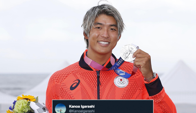 Japonês que derrotou Medina no surf provoca brasileiros