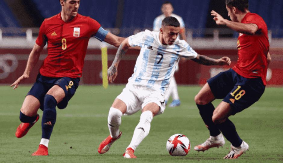 Argentina é a primeira seleção eliminada no futebol masculino nas Olímpiadas de Tóquio