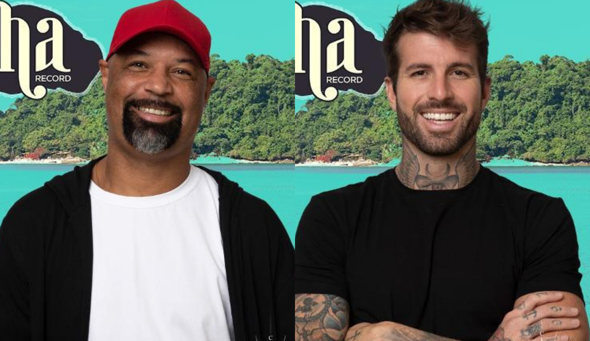 Ilha Record: Claudinho e Dinei se enfrentam no desafio da sobrevivência