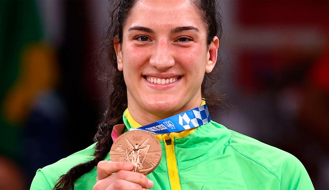 Histórico! Mayra Aguiar é a maior medalhista Brasileira após faturar Bronze em Tóquio