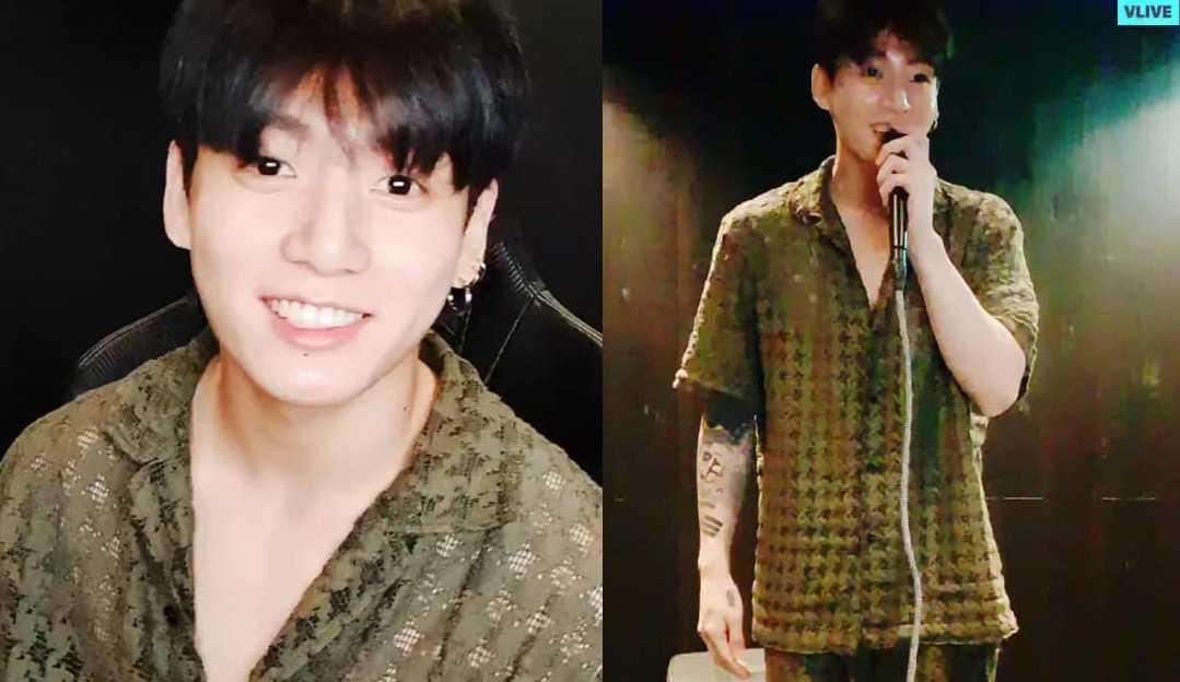 Jungkook do BTS faz pijama de R$2,3 mil esgotar após live