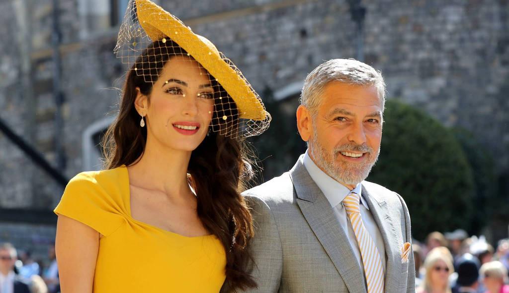 Amal e George Clooney revelam que estão grávidos de gêmeos novamente