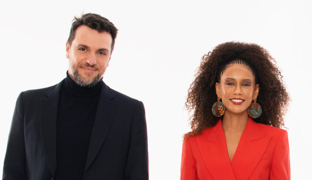 Rodrigo Lombardi e Taís Araújo são jurados de novo reality da Globo