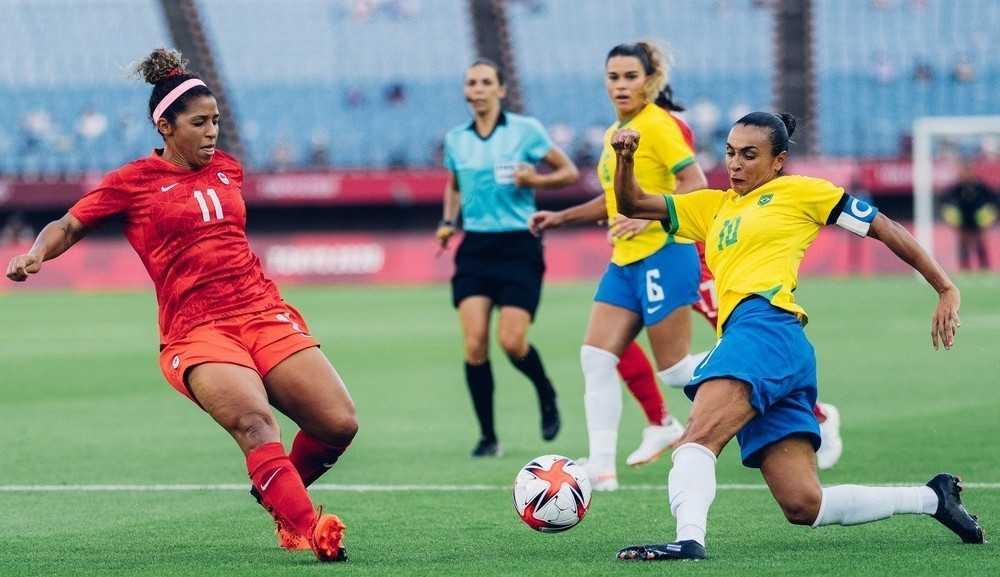 Brasil perde nos pênaltis para o Canadá e está eliminada das Olimpíadas de Tóquio 2020