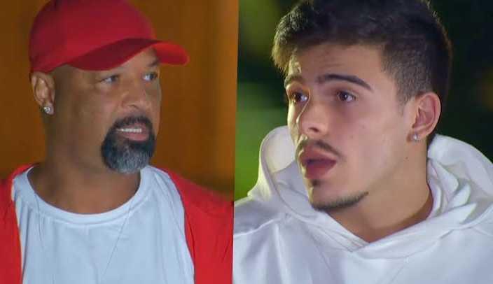 Thomaz Costa questiona lealdade de Dinei após 'Ilha Record': 'Isso não tem cabimento'
