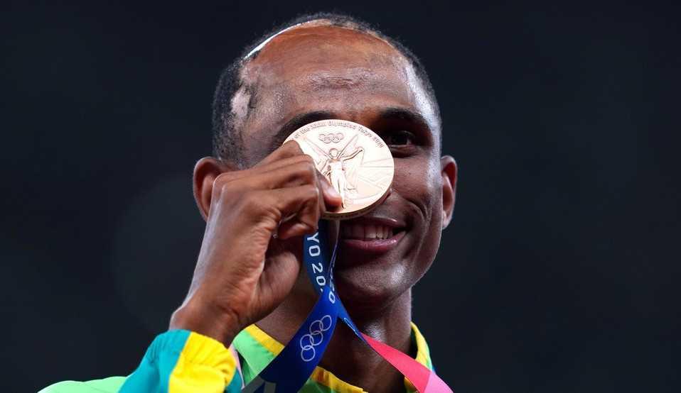 Histórico! Com recorde sul-americano, Alison Dos Santos conquista bronze nas Olimpíadas de Tokyo