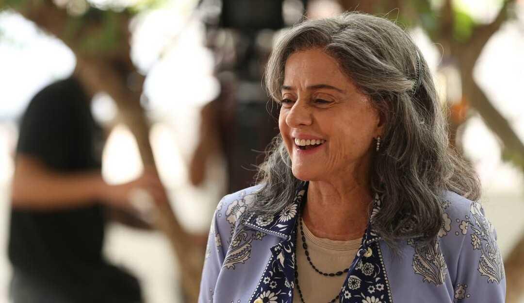 Marieta Severo conta um pouco sobre contracenar com Reynaldo Gianecchini e Juliana Paes