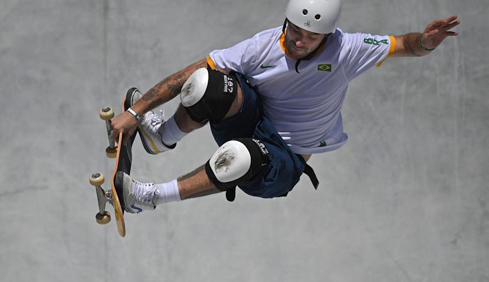 Pedro Barros leva a prata no skate park, marca a 16ª medalha do Brasil e terceira da modalidade em Tóquio