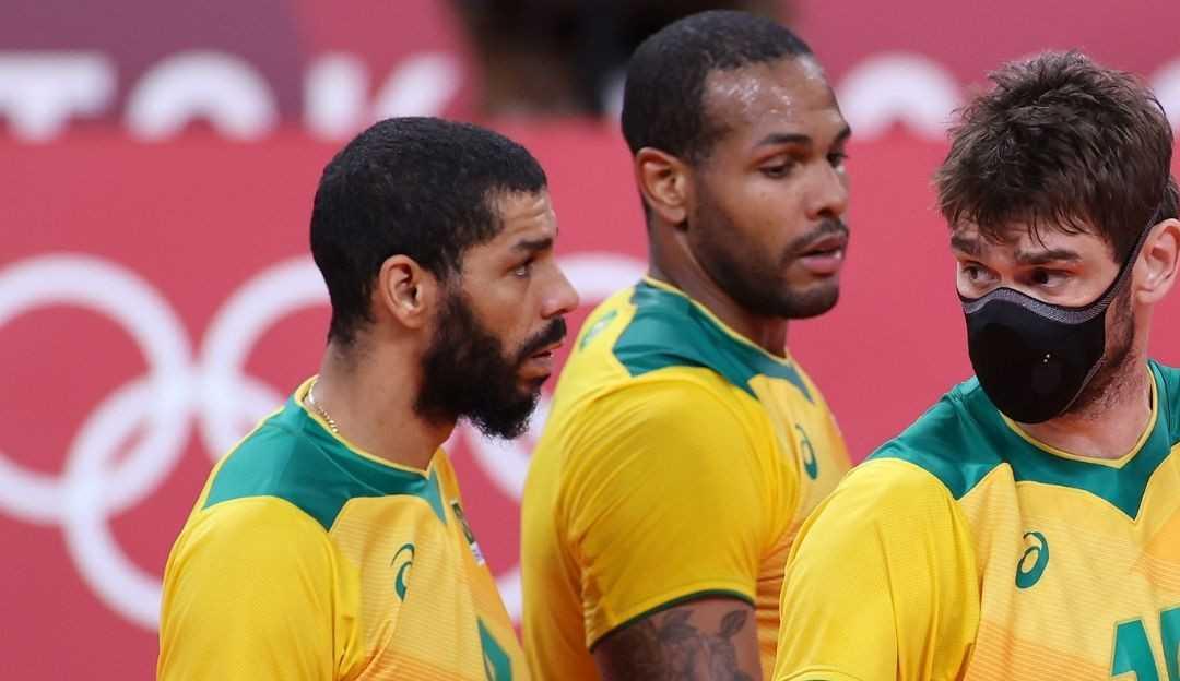 """Lucão aponta 3º set como decisivo para a derrota do vôlei brasileiro diante os russos : """"A culpa foi nossa que colocamos eles no jogo"""""""