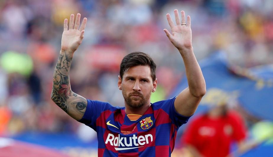 Bomba! Lionel Messi não é mais jogador do Barcelona