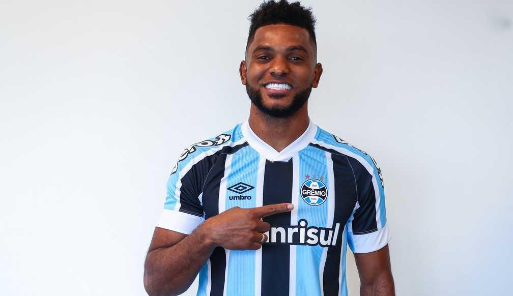 Grêmio anuncia a contratação de Miguel Borja