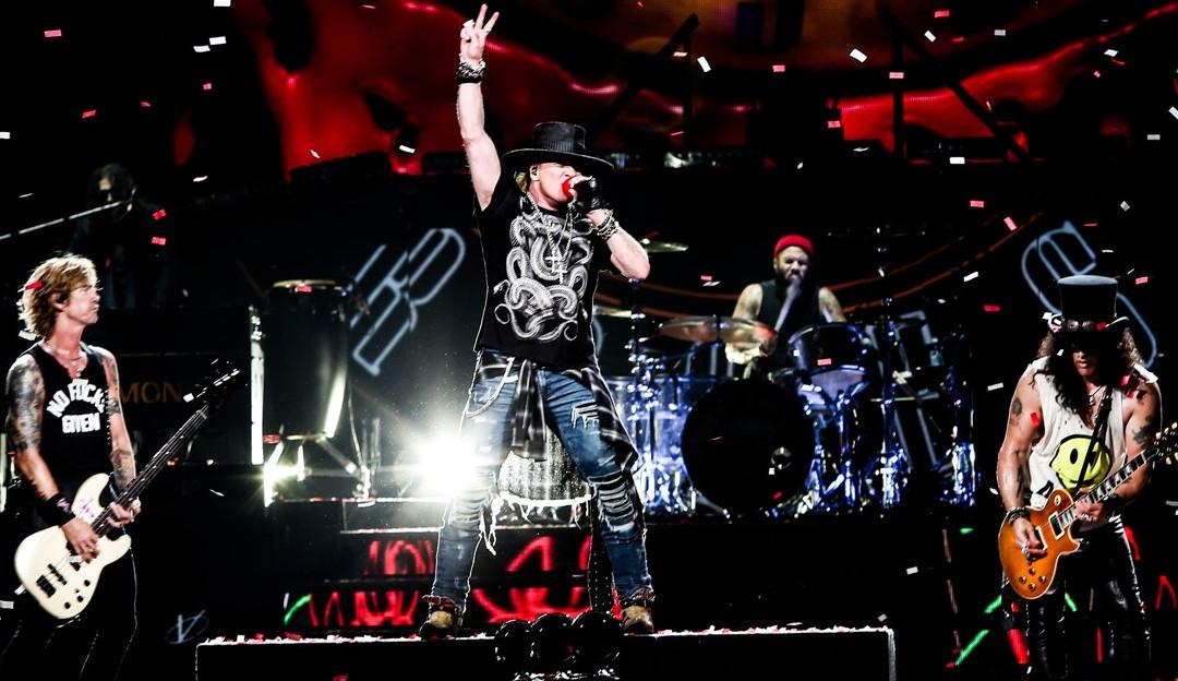 'Absurd' é o retorno dos Guns N' Roses após 13 anos sem inéditas