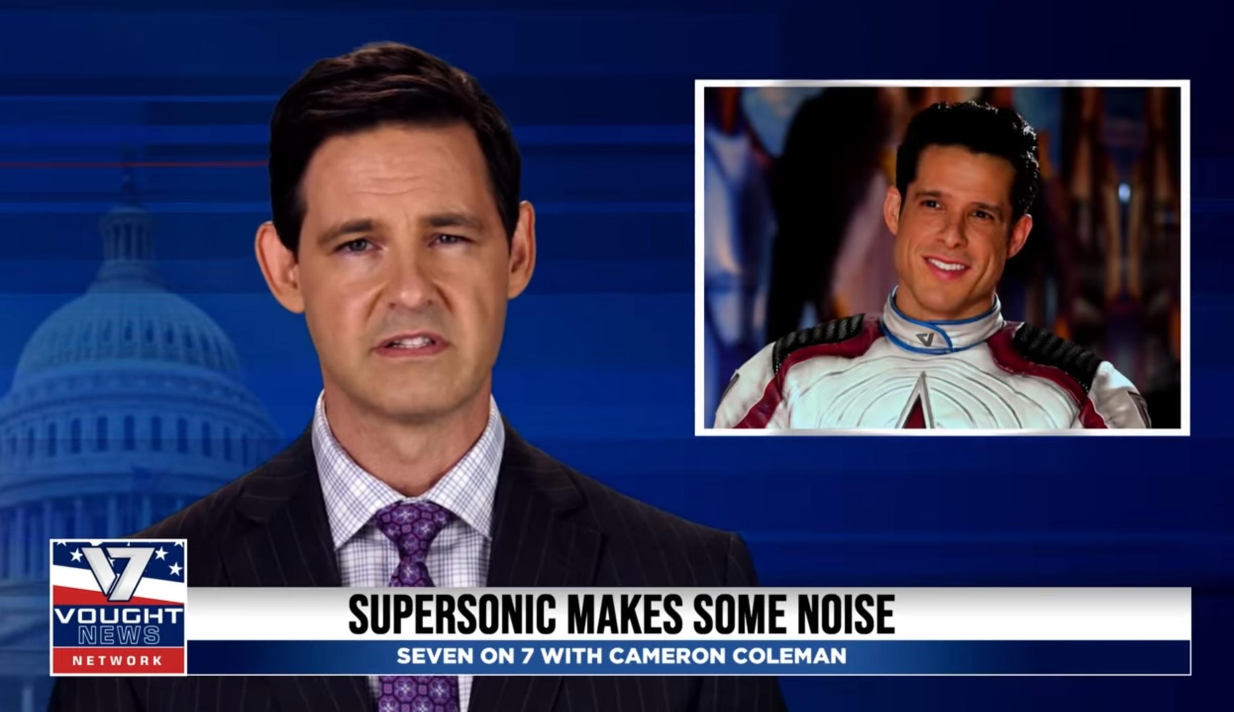 The Boys | Vídeo introduz 'herói' supersonic na 3ª temporada da série