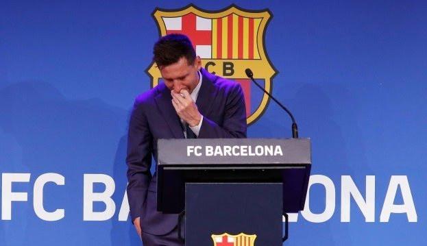 Messi se despede do Barcelona e despista sobre PSG: 'Não tenho nada fechado'