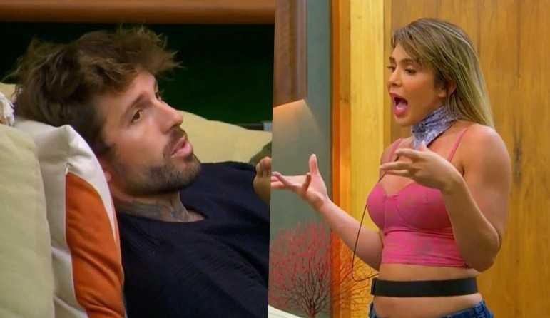 Ilha Record: Nadja diz que foi subestimada por Claudinho e ele rebate: 'Sou muito melhor que você'