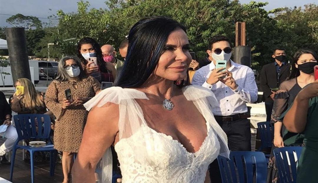 Gretchen e Esdras se casam ao pôr do sol em Belém do Pará