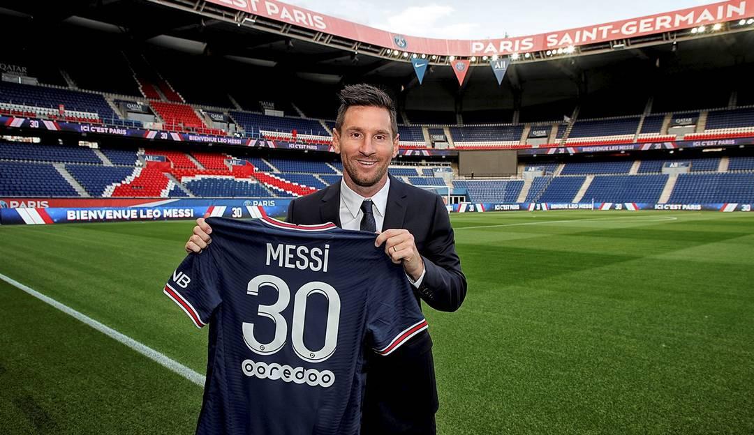 Lionel Messi fala pela primeira vez como jogador do PSG: 'Espero que seja um ano extraordinário para nós'