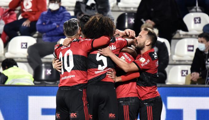 Flamengo goleia Olímpia no Paraguai e leva vantagem para chegar às semifinais da Libertadores