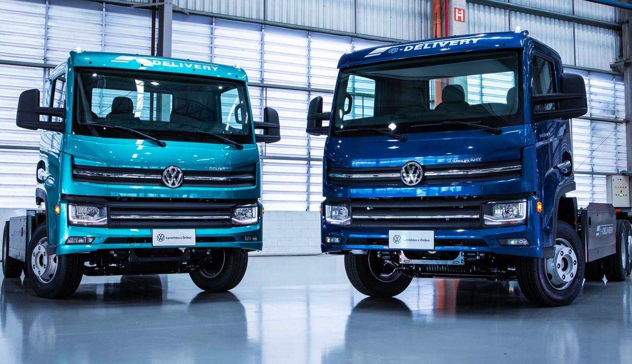 Volkswagen aposta em caminhão 100% elétrico produzido no Brasil