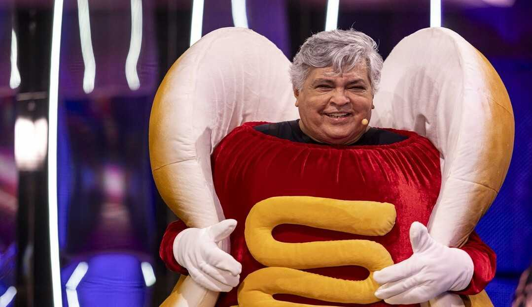 Sidney Magal é eliminado na estreia do The Masked Singer Brasil