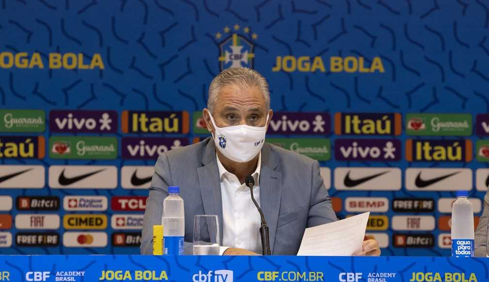 Tite convoca seleção brasileira com seis jogadores campeões olímpicos para jogos das Eliminatórias