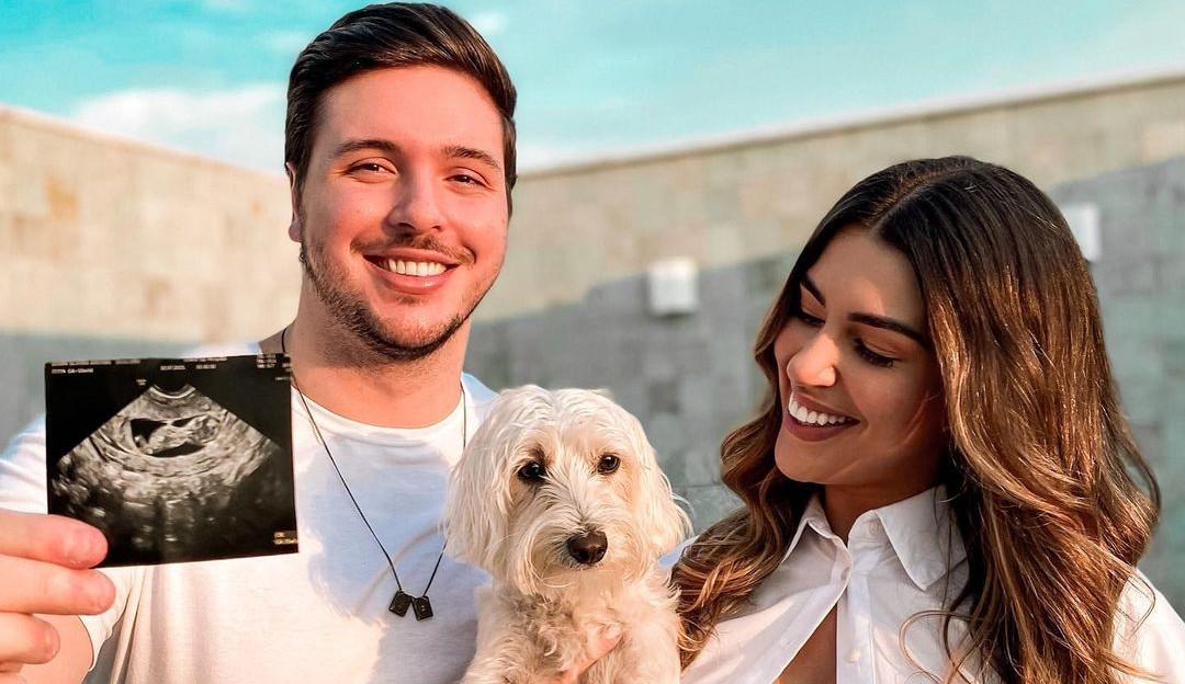 Vivian Amorim anuncia gravidez do primeiro filho: 'Agora me aguentem'