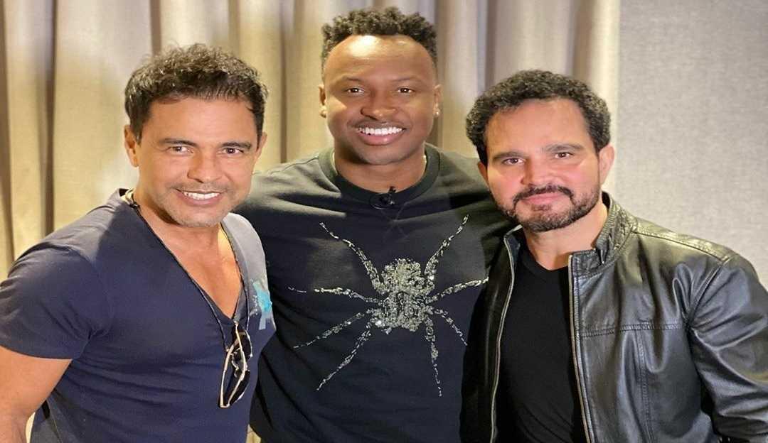 Cantor Thiaguinho grava música para série de Zezé Di Camargo e Luciano