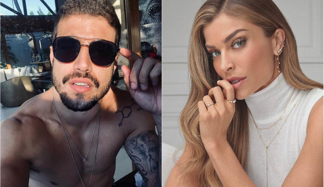 Caio Castro mostra em seu Instagram romantismo de Grazi Massafera