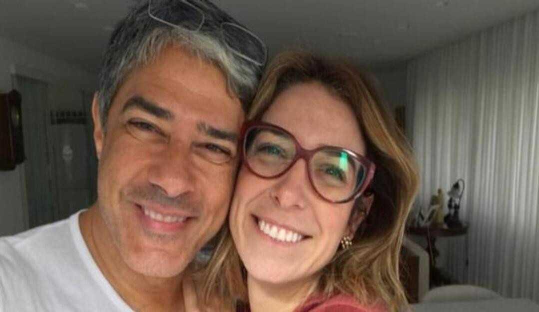 Natasha Dantas, esposa de william Bonner, comenta com seus seguidores sobre perda do afilhado