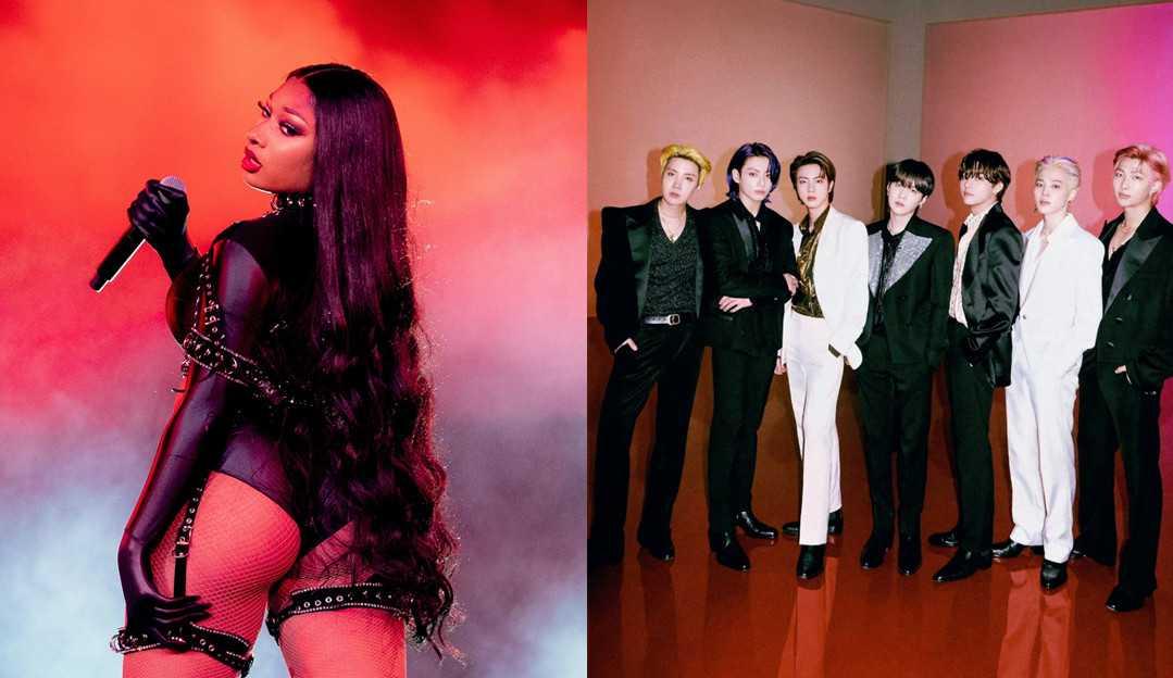 Gravadora de Megan Thee Stallion a impede de lançar remix com o BTS