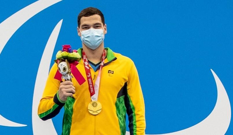 Brasil brilha no primeiro dia de natação nas paralimpíadas