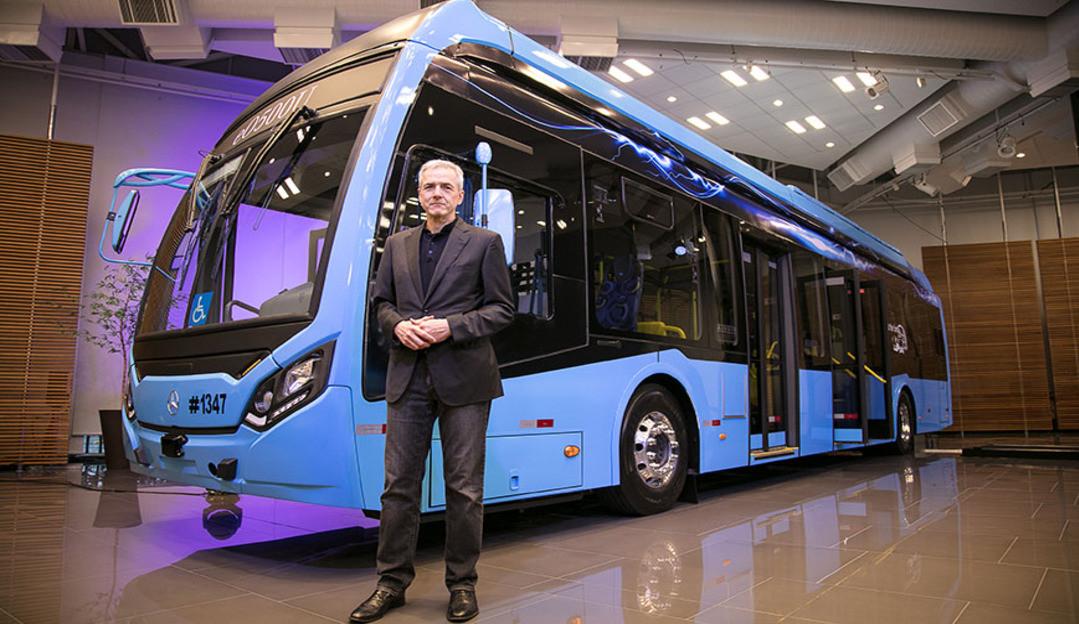 Mercedes-Benz anuncia produção de ônibus elétrico no Brasil com investimento de R$ 100 milhões