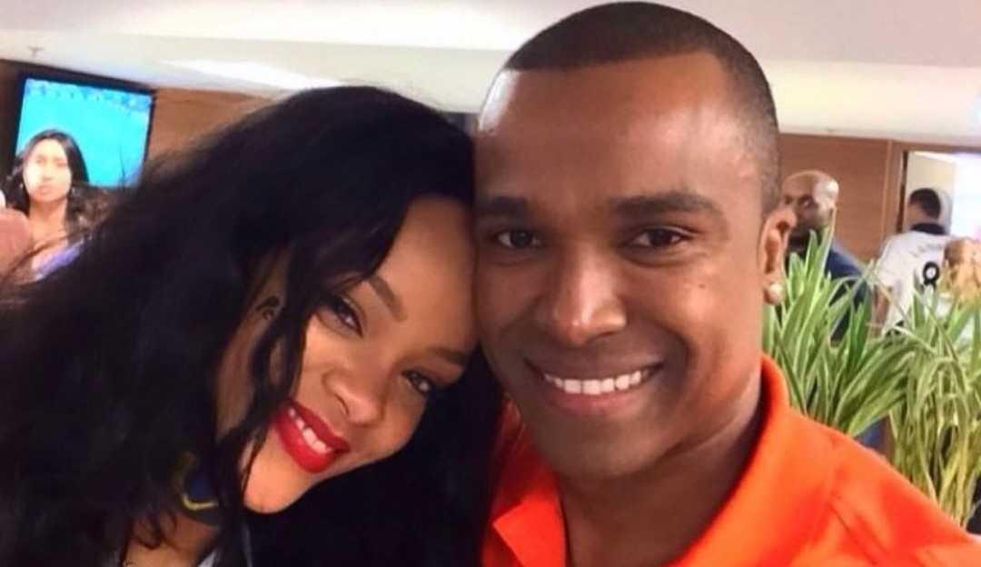 'Recebi carinho' diz Alexandre Pires após lembrar de encontro com Rihanna em 2014