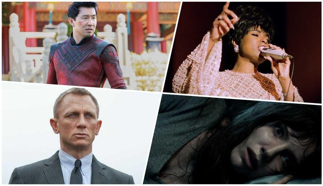 'Shang-Chi', '007' e 'Respect: A História de Aretha Franklin' são os grandes lançamentos de setembro nos cinemas