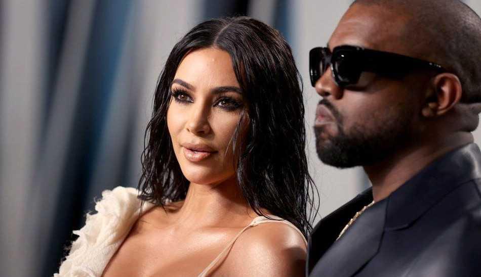 Kim Kardashian aparece vestida de noiva em clipe de Kanye West