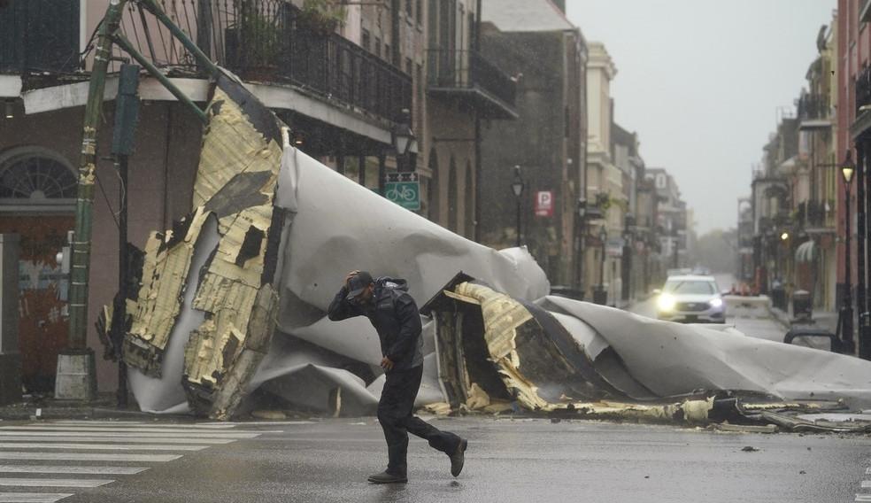 Furacão Ida chega com força devastadora à costa dos EUA