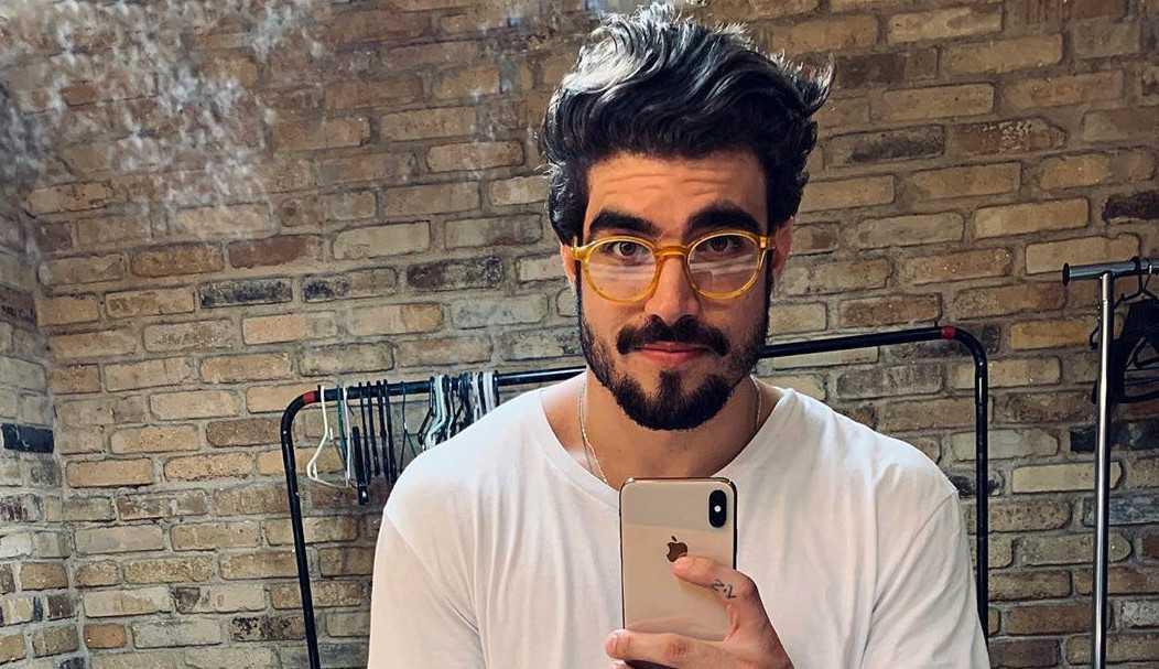 Caio Castro faz post enigmático após término com Grazi Massafera
