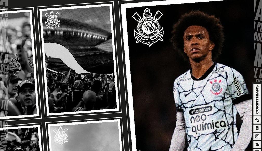 Corinthians anuncia a contratação e volta de Willian