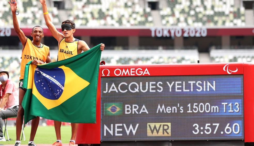 Com direito a recorde mundial, Yeltsin Jacques fatura a 100ª medalha de ouro do Brasil nas Paralimpíadas