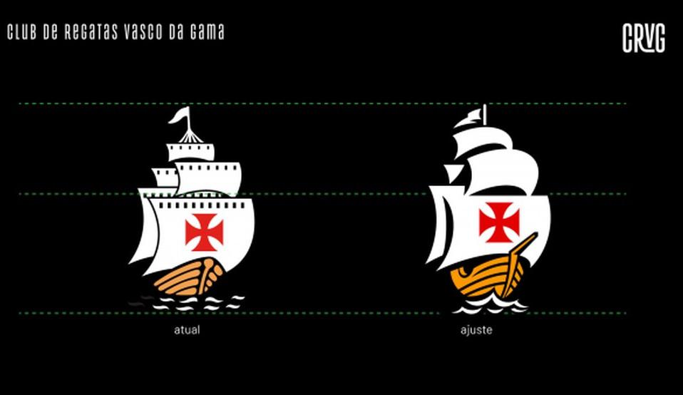 Venha conferir a nova identidade visual do Vasco